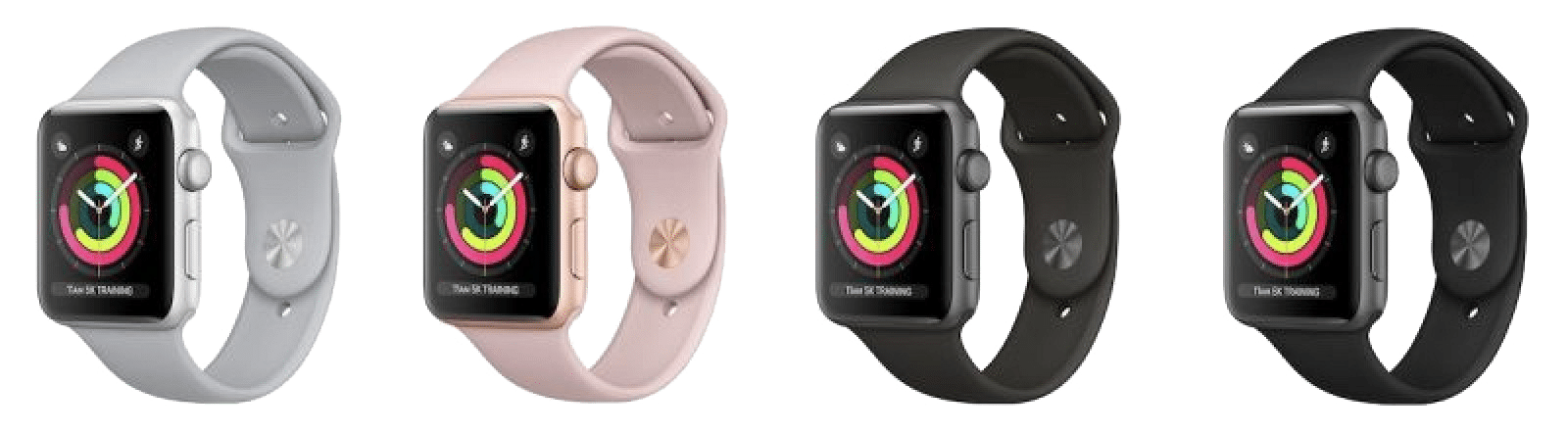 Alle modellen apple watch series 3