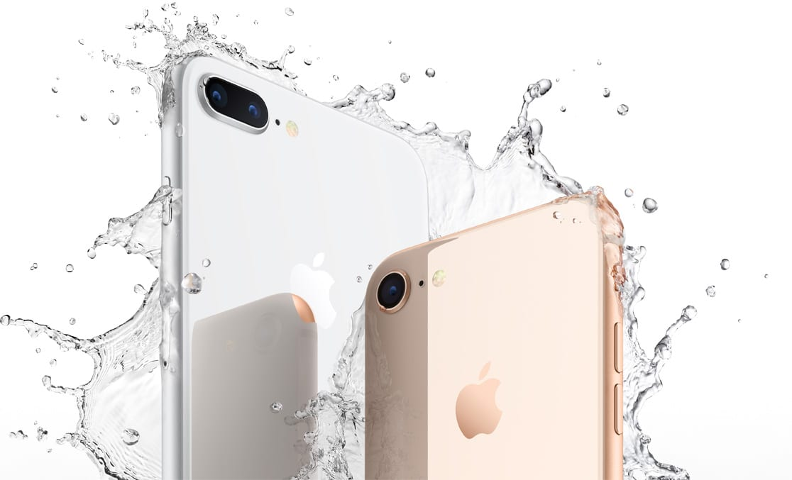 iPhone 8 Plus Zilver en iPhone 8 Goud