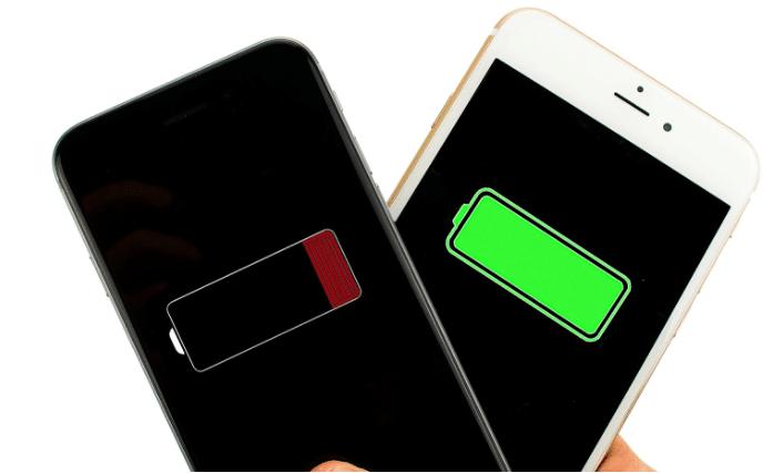 iphone batterij