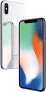 iPhone X 64 GB Zilver